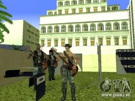 Le concert Film pour GTA San Andreas neuvième écran