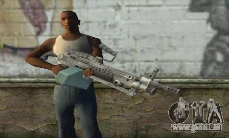 M16 из Postal 3 für GTA San Andreas dritten Screenshot
