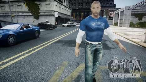 Vin Diesel Wheelman pour GTA 4