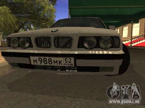 BMW 525 Smotra pour GTA San Andreas vue arrière