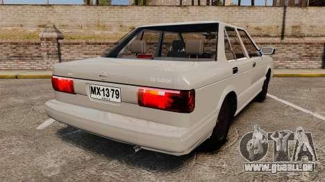 Nissan Tsuru für GTA 4 hinten links Ansicht