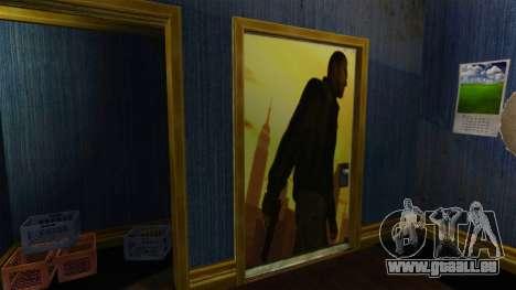 Renovierte Wohnung von South Bohan für GTA 4 Sekunden Bildschirm