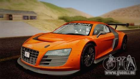 Audi R8 LMS v2.0.4 DR pour GTA San Andreas moteur