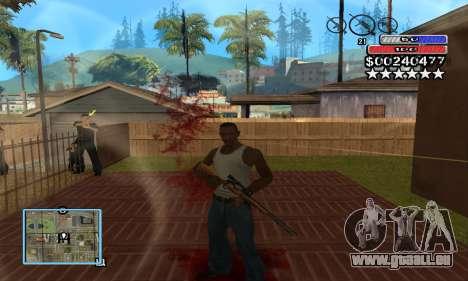 C-HUD by NickQuest für GTA San Andreas zweiten Screenshot