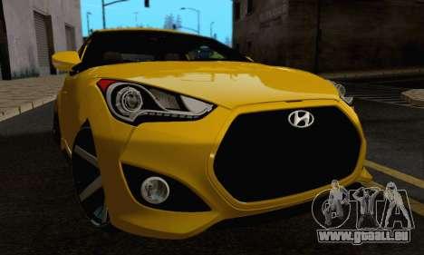 Hyundai Veloster pour GTA San Andreas vue de côté