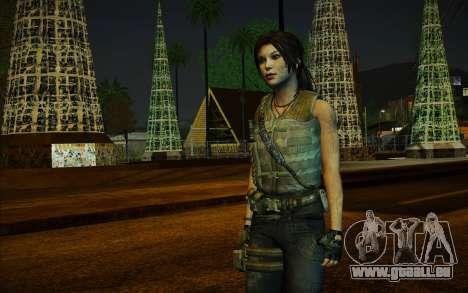 Tomb Raider Lara Croft Guerilla Outfit für GTA San Andreas