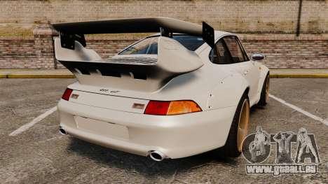 Porsche 993 GT2 1996 v1.3 pour GTA 4 Vue arrière de la gauche