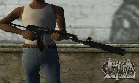 Silenced M70AB2 pour GTA San Andreas troisième écran