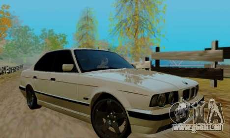 BMW 525 Re-Styling pour GTA San Andreas vue de côté