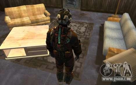 Isaac Clark in E.V.A Suit pour GTA San Andreas troisième écran