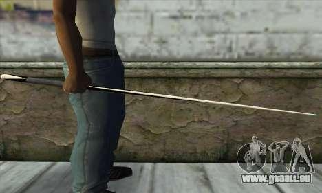 Pool cue für GTA San Andreas zweiten Screenshot
