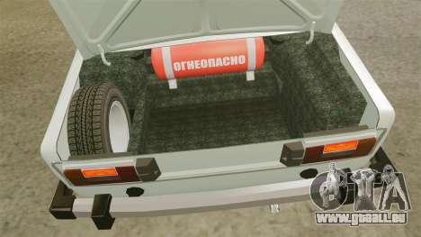 AIDE-Lada 2106 pour GTA 4 Vue arrière