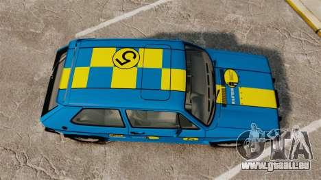 Volkswagen Rabbit GTI 1984 pour GTA 4 est un droit