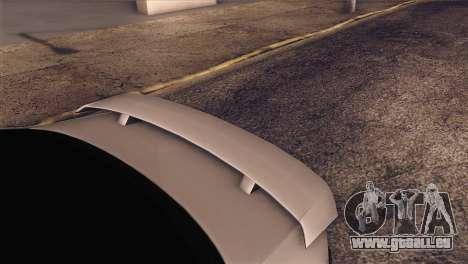 Volkswagen Bora GLI für GTA San Andreas Rückansicht