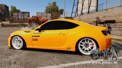 Subaru BRZ 2013 für GTA 4 linke Ansicht