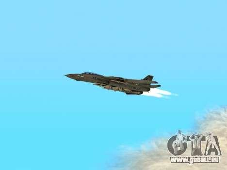 F-14 Tomcat HQ pour GTA San Andreas vue intérieure