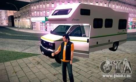 GTA V Camper pour GTA San Andreas vue de droite