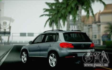 Volkswagen Tiguan 2012 für GTA San Andreas Unteransicht