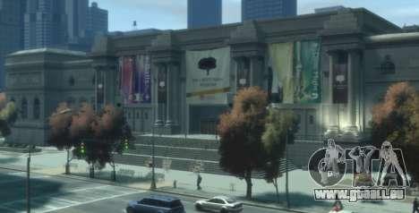Bank Und Museum Raub für GTA 4 Sekunden Bildschirm