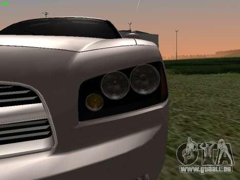 Dodge Charger RT 2008 pour GTA San Andreas vue de droite