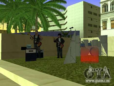 Le concert Film pour GTA San Andreas troisième écran