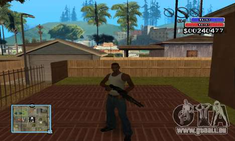C-HUD by NickQuest pour GTA San Andreas