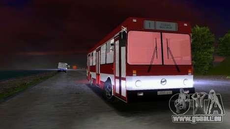 LIAZ-5256 pour GTA Vice City vue arrière