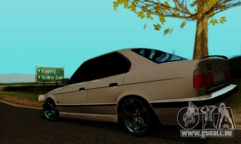 BMW 525 Re-Styling für GTA San Andreas linke Ansicht
