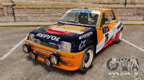 Renault 5 Maxi Turbo pour GTA 4