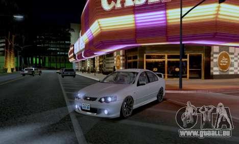 ENB CUDA 2014 for Low PC für GTA San Andreas zweiten Screenshot