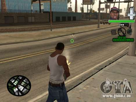 C-HUD by Tyler pour GTA San Andreas