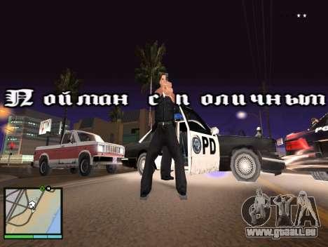 GTA 5 HUD v2 für GTA San Andreas zweiten Screenshot
