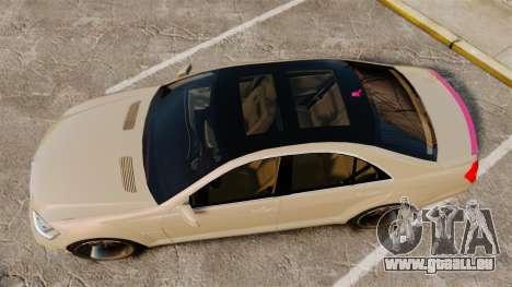 Mercedes-Benz S65 (W221) für GTA 4 rechte Ansicht