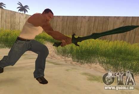 Glas Schwert von Skyrim für GTA San Andreas