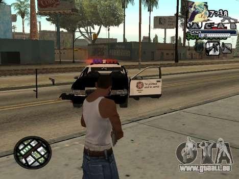 C-Hud Woozie Tawer pour GTA San Andreas deuxième écran