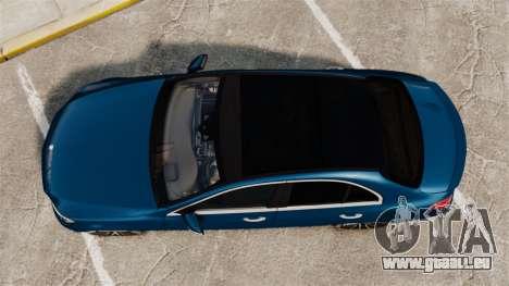 Mercedes-Benz C-Class (W205) AMG 2014 für GTA 4 rechte Ansicht