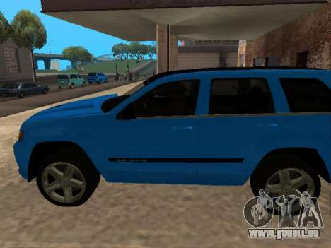 Jeep Grand Cherokee SRT8 Restyling M für GTA San Andreas linke Ansicht