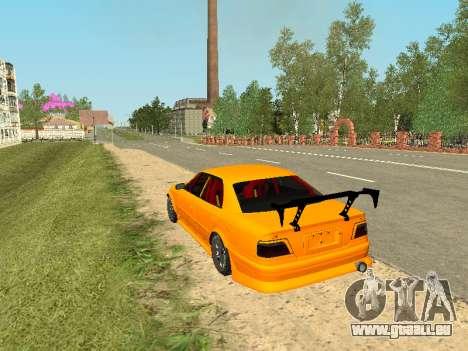 Toyota Сhaser pour GTA San Andreas vue de droite