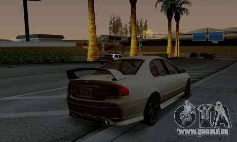 ENB CUDA 2014 for Low PC pour GTA San Andreas troisième écran