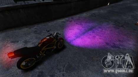 Lila Lichter für GTA 4 Sekunden Bildschirm