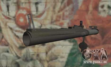 M72 LAW für GTA San Andreas zweiten Screenshot