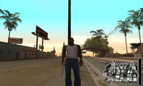 C-HuD Black White für GTA San Andreas