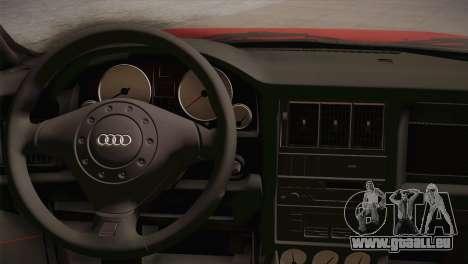 Audi 80 B4 RS2 für GTA San Andreas Rückansicht