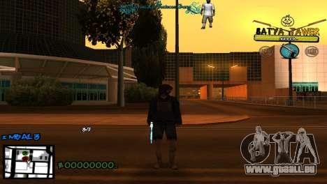 C-Hud by Baton Batya pour GTA San Andreas deuxième écran