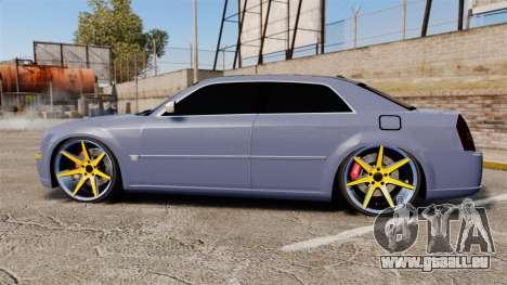 Chrysler 300C SRT8 pour GTA 4 est une gauche