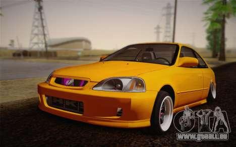 Honda Civic 1999 Si für GTA San Andreas