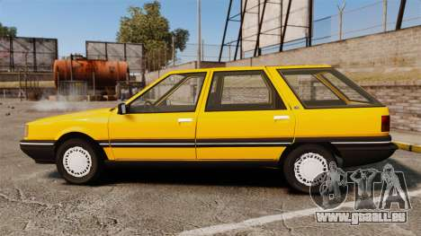 Renault 21 Nevada GTD für GTA 4 linke Ansicht