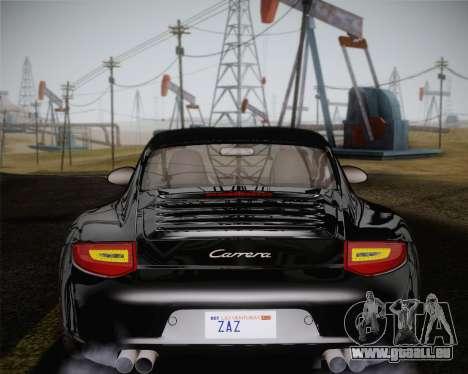 Porsche 911 Carrera für GTA San Andreas Innen