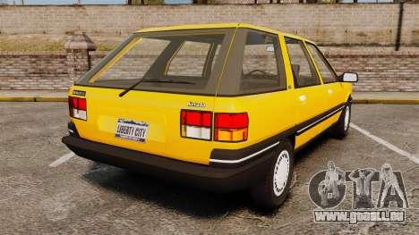 Renault 21 Nevada GTD pour GTA 4 Vue arrière de la gauche