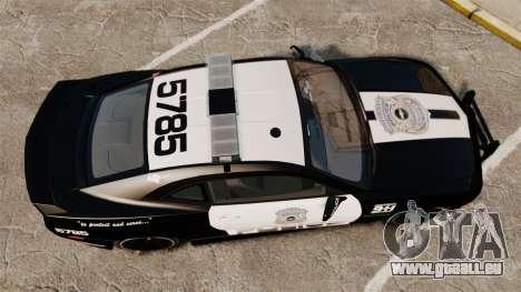 Chevrolet Camaro Police [ELS-EPM] für GTA 4 rechte Ansicht